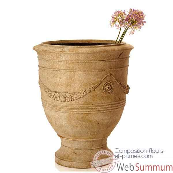Vases-Modele Anduz Pot, surface gres-bs3056sa