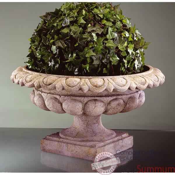 Vases-Modele Kensington Urn, surface pierre romaine-bs3088ros