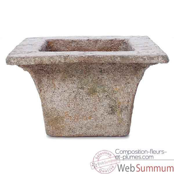 Vases-Modèle Perth Planter,  surface granite-bs3113gry