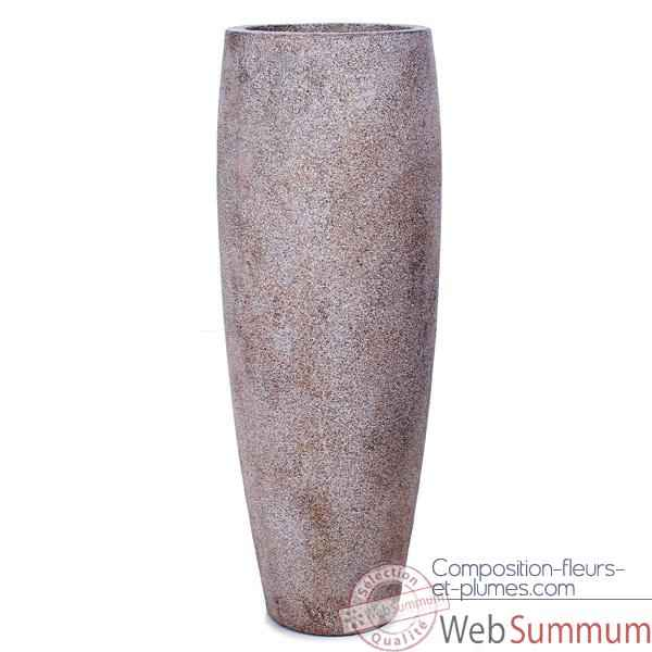 Vases-Modele Mati Planter,  surface granite-bs3114gry