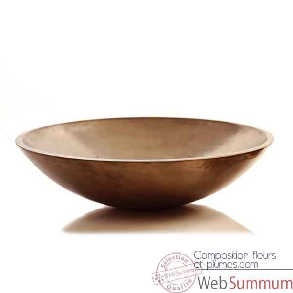 Vases-Modele Kawa Bowl Junior, surface bronze nouveau-bs3271nb