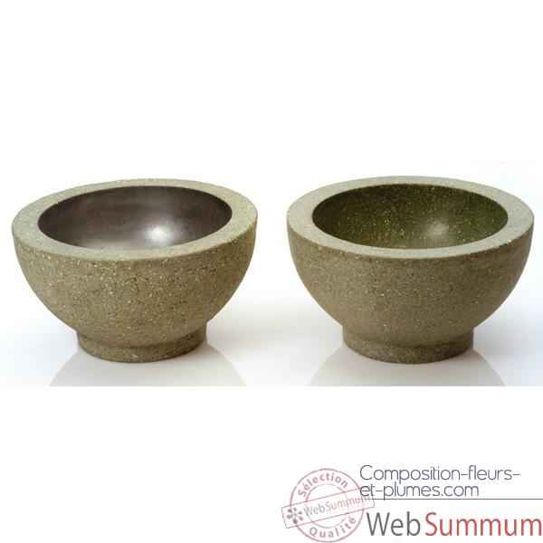 Vases-Modele Paso Bowl Small, surface vrd-bs3347vrd