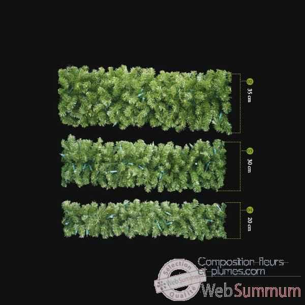 Guirlande star vert professionnelle 180 cm dans guirlande for Decoration professionnelle