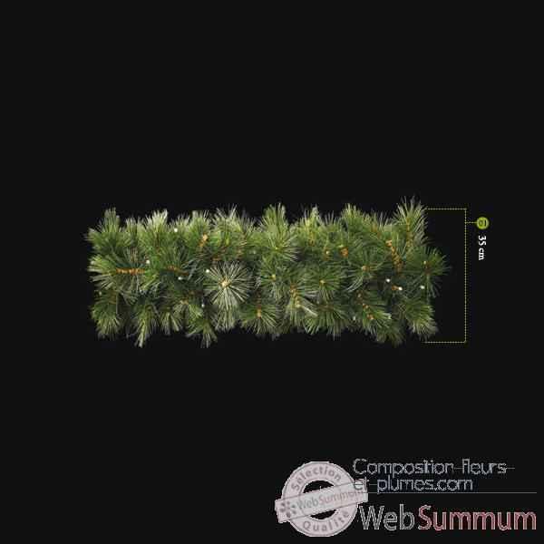 Arbre arbuste fleur et sapin artificiel composition for Guirlande lumineuse exterieur professionnel