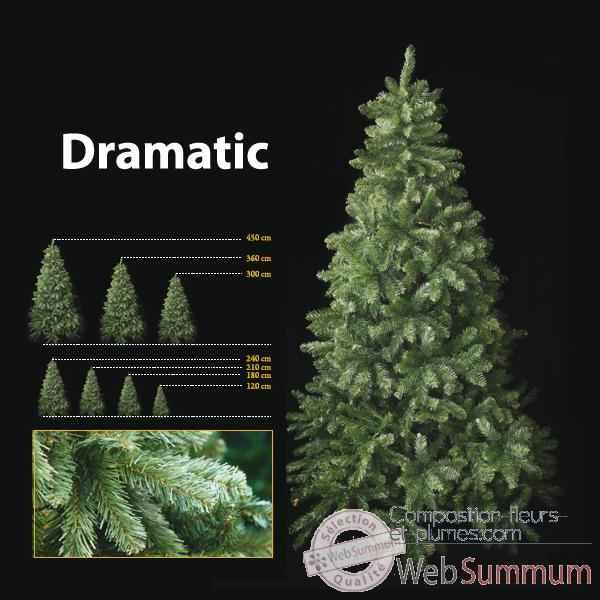 Sapin de Noël 80 cm Professionnel Dramatic Pine Tree -Sac de ...