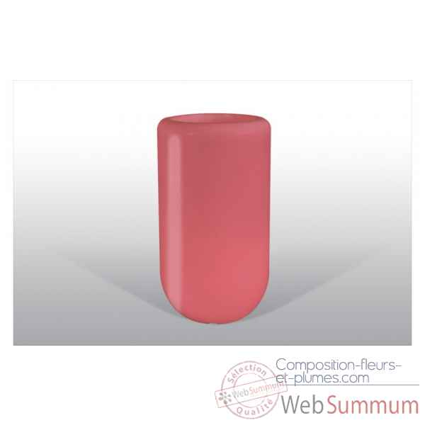 Pot fleu pill 70 cm rouge Bloom -BLOOM53