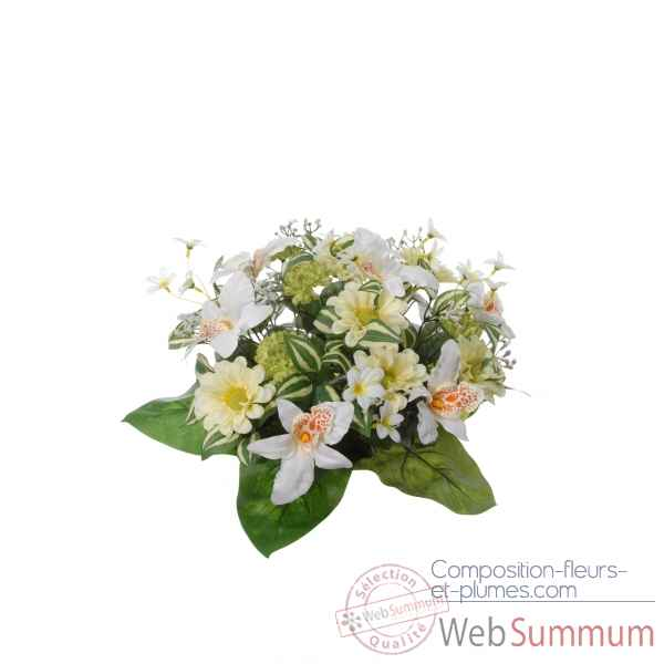 Piquet orchidee - zinnia - chrysanthemes Louis Maes -22054.583