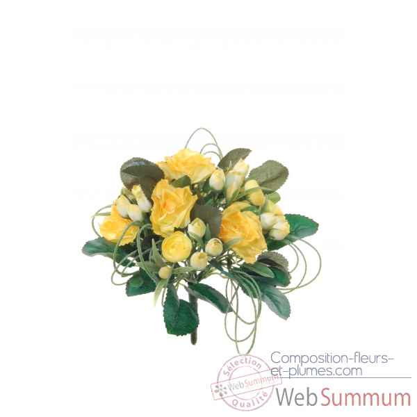 Roses - herbes mini bouquet Louis Maes -05232.475